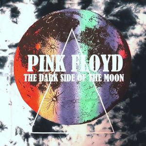 Pink Floyd Tops - Pink Floyd Logo Tie Dye Skimmer Tee M L NWT